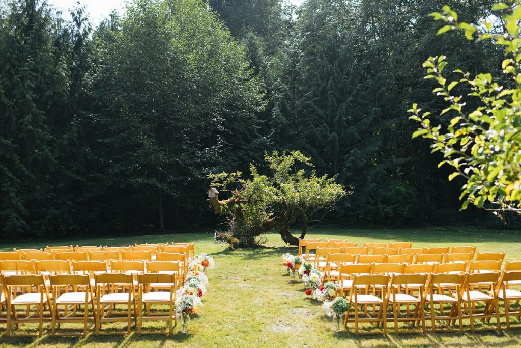 beau lodge wedding ceremony site