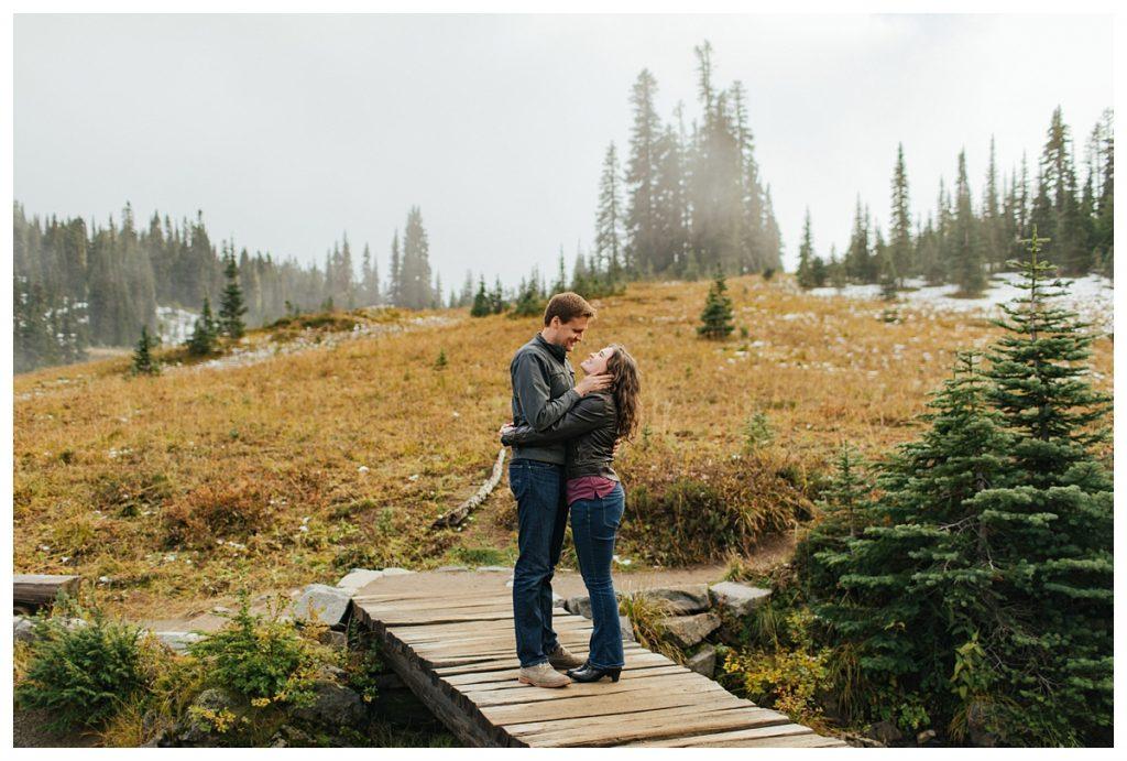 Mt. Rainier Engagement Session