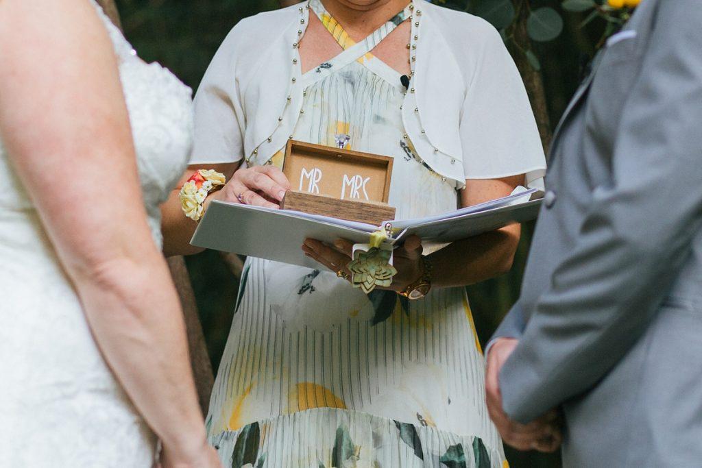 TreeHouse Point Wedding ceremony