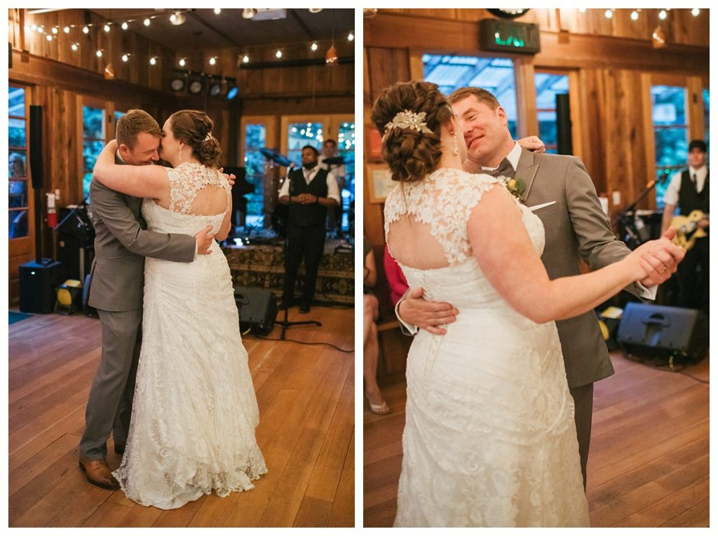 TreeHouse Point Wedding first dance