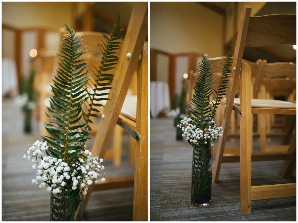 Cedarbrook Lodge Wedding ceremony details