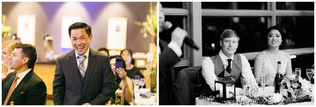 Cedarbrook Lodge Wedding father of the bride toast