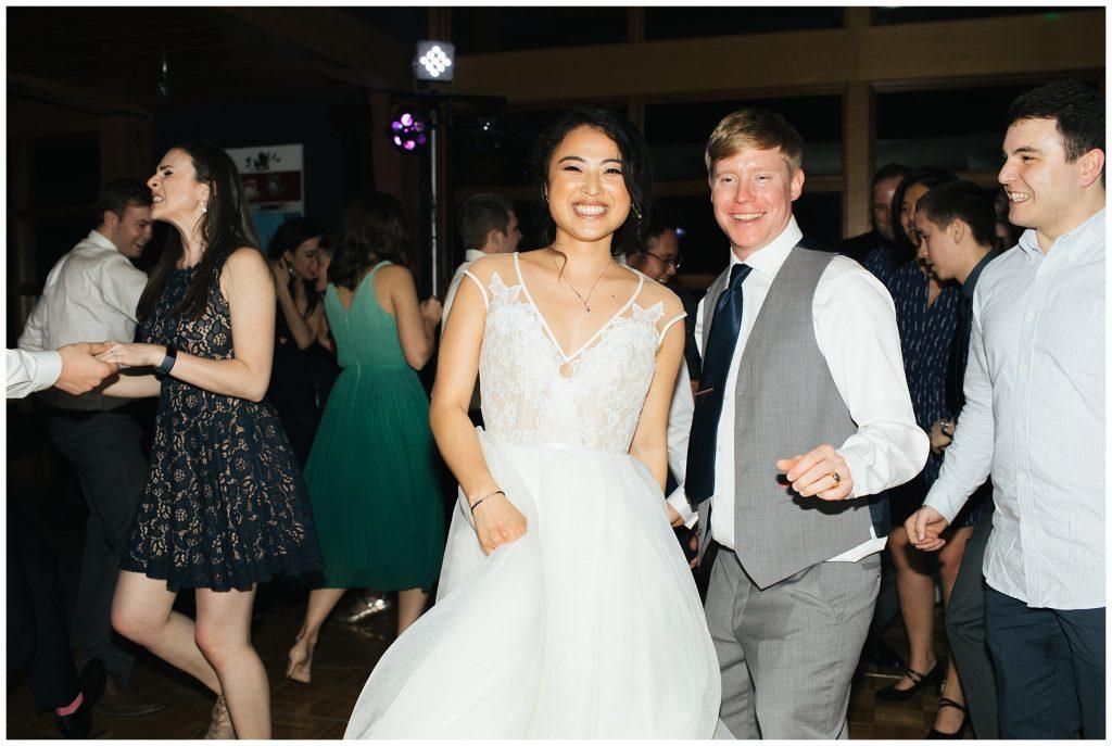 Cedarbrook Lodge Wedding reception dancing